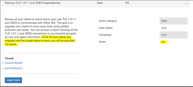 Preparing for TLS 1 2 Migration in Office 365 - Office 365