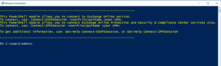 Exchange online Remote PowerShell Module