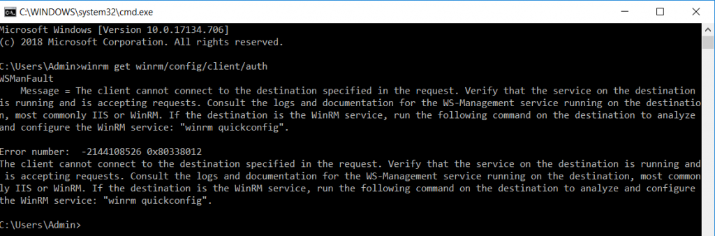 The client cannot connect to the destination specified in the request. Verify that the service on the destination is running and is accepting requests