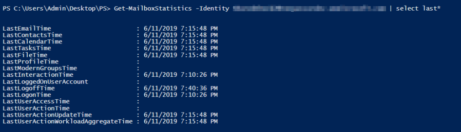 Last logon time shows incorrect value in reports