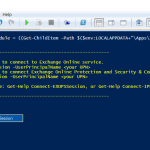 Connect to Exchange Online PowerShell Using MFA (Multi Factor Authentication)