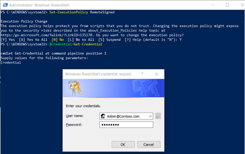 Connect Exchange Online PowerShell