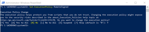 PowerShell script to Connect Exchange Online PowerShell