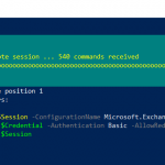 Connect to Exchange Online PowerShell