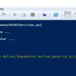 Connect to all Office 365 Services PowerShell (Supports MFA too)