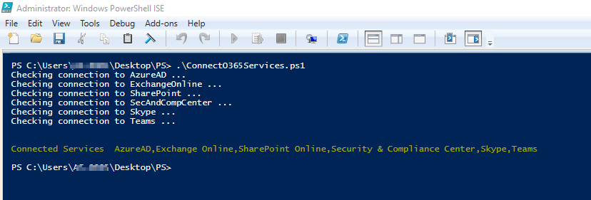 Install Office 365 PowerShell Module
