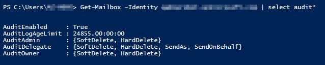 Configure mailbox audit logging